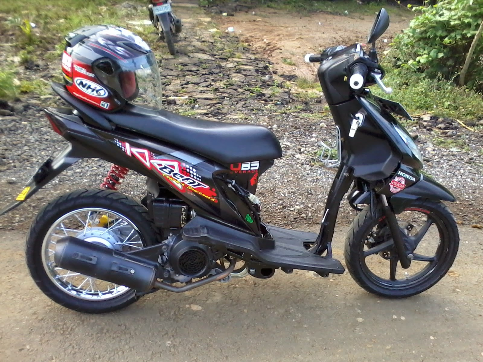 100 Modifikasi Motor Beat Hitam 2015 Modifikasi Motor Beat Terbaru